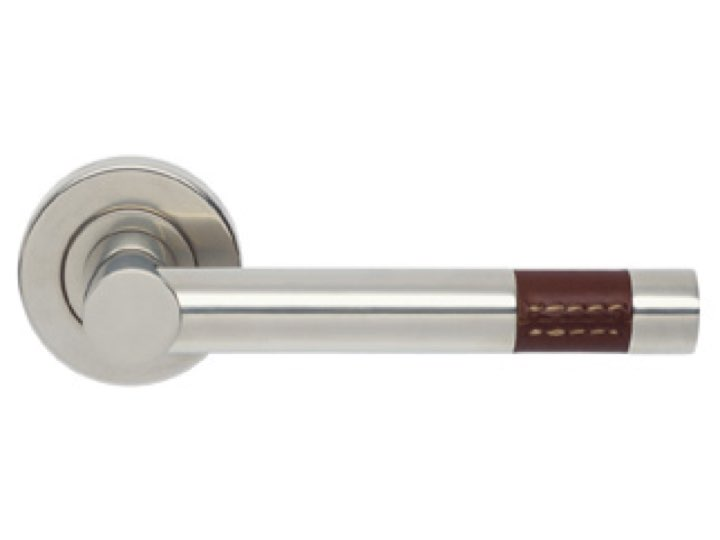 Turnstyle Barrel Short Stitch-Out Lever Furniture