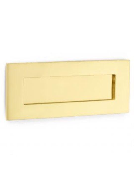 "Croft 10 x 3"" Standard Letter Plate"