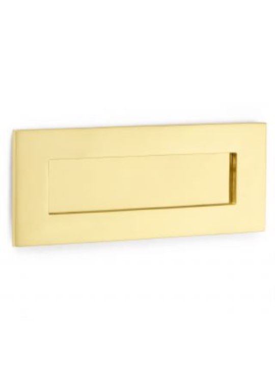 "Croft 10 x 4"" Standard Letter Plate"
