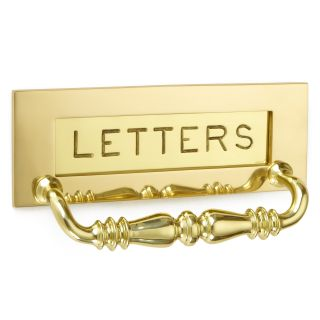 Croft Engraved Letter Plate With Handle
