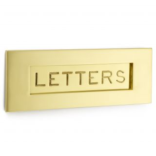 Croft Engraved Letter Plate