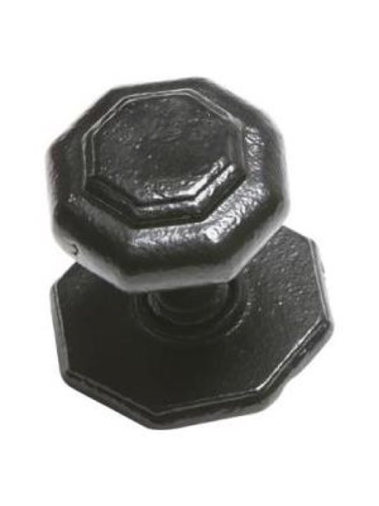 Kirkpatrick Antique Black Iron Centre Door Knob 3370
