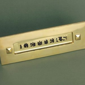 Classic Letterbox without Clapper