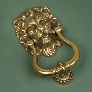 Lion's Head Door Knocker