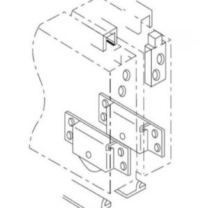 Jason (Straightaway 600) Bottom Rolling Door Gear