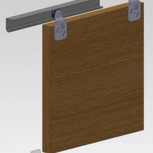 Twin 60 Wardrobe Door Gear