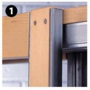 The Hideaway Pocket Door Frame Kit
