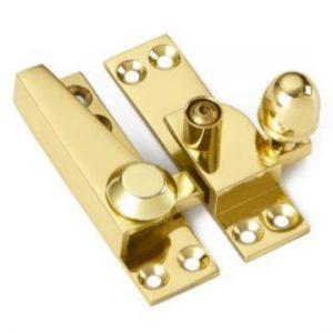 Croft Acorn Knob Sash Fastener - Locking