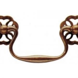 Fretted Rosette Cabinet Handle