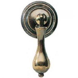 Stamped Brass Drop Handle