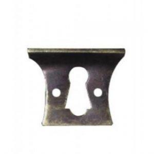 Solid Cast Brass Escutcheon
