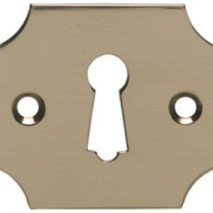 Stamped Brass Escutcheon
