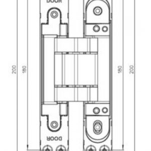 K7120 Concealed Hinge