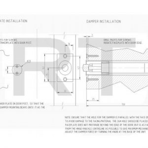 D140 Adjustable Damper Unit