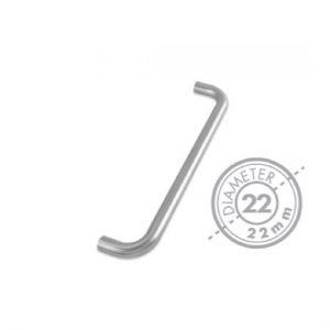 "300mm Bolt Through ""D"" Pull Handle (GRADE 201)(22mm Diameter)"
