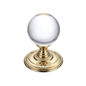Glass Ball Mortice Knob 55mm