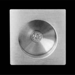 Stainless Steel Finger Pull For Pocket Door (Square)