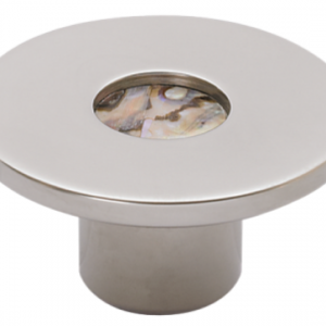 Turnstyle Recess Shell Small Circle Cabinet Knob