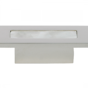 Turnstyle Recess Shell Rectangle Cabinet Knob