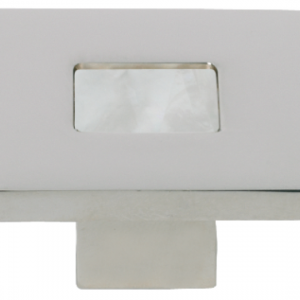 Turnstyle Recess Shell Square Cabinet Knob