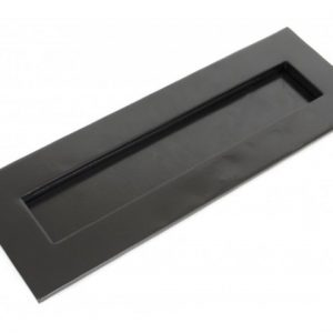 Large Letter Plate - Black