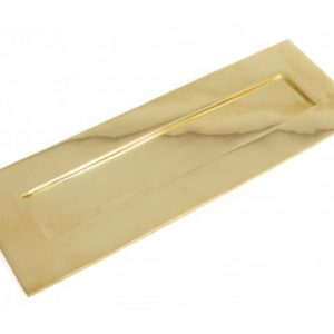 Large Letterplate - Polished Brass