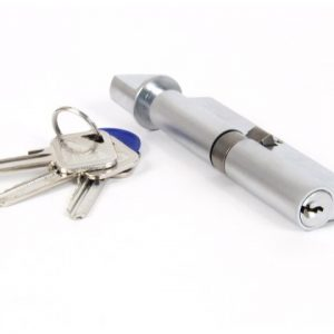 35/35 Euro Cylinder & Thumb Turn Lock Keyed Alike