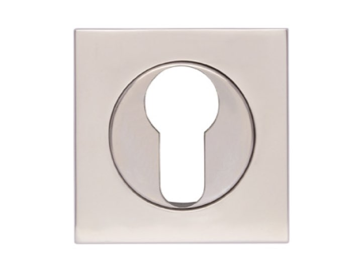 Turnstyle S1424 Square Euro-profile Escutcheon