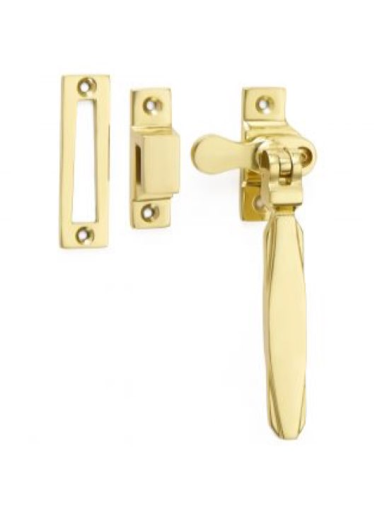 Croft Art Deco Locking Casement Fastener M.P. or H.P.