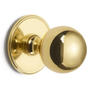 Croft Ball Centre Door Knob On Round Rose