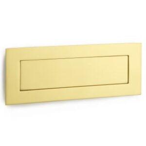 """Croft 10"""" Flush Letter Plate"""