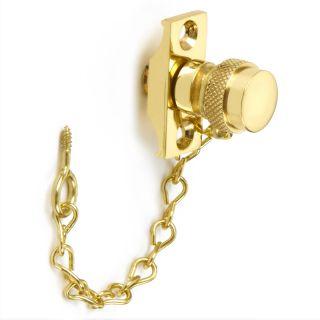 Croft Acorn Sash Stop With Chain