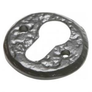 Kirkpatrick Antique Black Escutcheon 1401