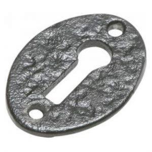 Kirkpatrick Antique Black Escutcheon 3011