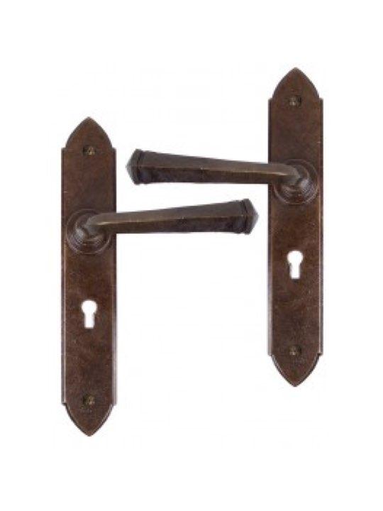 Gothic Lever Lock Set