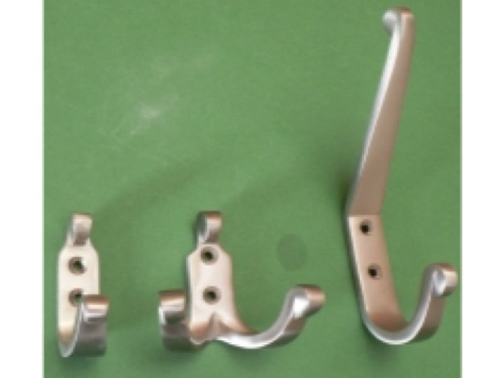 Tosca Hooks Brushed Nickel