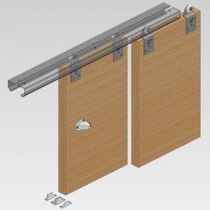 Twin 100 Wardrobe Door Gear
