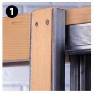 The Hideaway Pocket Door Frame Kit