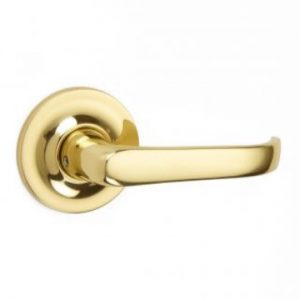 Croft Stafford Lever Handle - Covered Rose