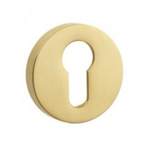 Croft Round Euro Profile Escutcheon