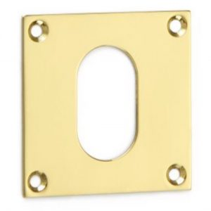 Croft Square Escutcheon - Oval Profile