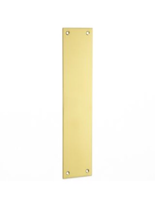 Croft Plain Finger Plate 12""