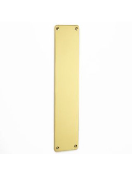 Croft Finger Plate with Rounded Corners 12""