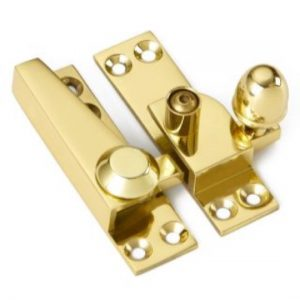 Croft Acorn Knob Sash Fastener - Locking