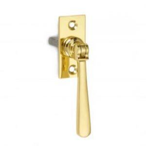 Croft Lockable Window Espagnolette Handle - Straight