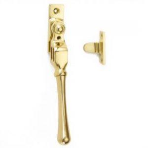 Croft Lockable Double Night Vent Fastener - Bulb End