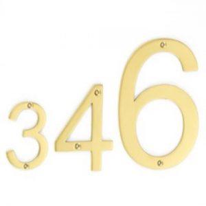 """Croft Arial Font Numerals 6"""""""