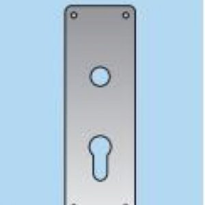Lever on Profile Lock Plate - 22mm