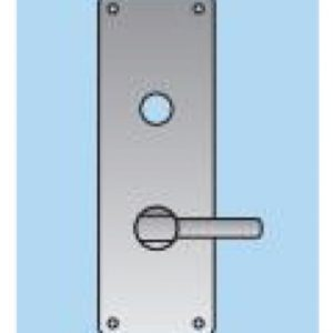 Lever on Disabled Bathroom Plate - 22mm