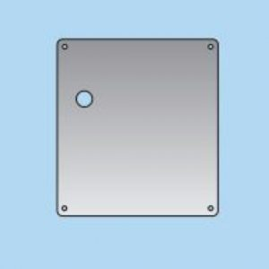 Lever on Latch Plate - 20mm